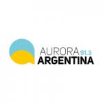 Logo da emissora Radio Aurora Argentina 91.3 FM