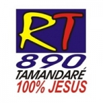 Logo da emissora Rádio Tamandaré 890 AM