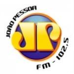 Logo da emissora Rádio Jovem Pan 102.5 FM