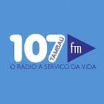 Logo da emissora Rádio 107 Tambaú 107.1 FM