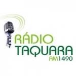 Logo da emissora Rádio Taquara 1490 AM