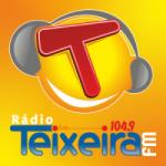 Logo da emissora Rádio Teixeira 104.9 FM