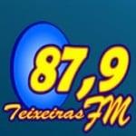 Logo da emissora Rádio Teixeiras 87.9 FM