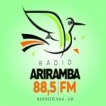 Logo da emissora Rádio Ariramba FM