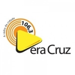 Logo da emissora Rádio Vera Cruz 106.3 FM