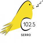 Logo da emissora Rádio Canarinho 102.5 FM