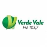 Logo da emissora Rádio Verde Vale 103.7 FM