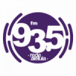 Logo da emissora Rádio Rede Aleluia 93.5 FM