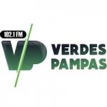 Logo da emissora Rádio Verdes Pampas 102.1 FM