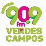 Logo da emissora Rádio Verdes Campos 90.9 FM