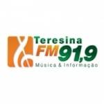Logo da emissora Rádio Teresina 91.9 FM