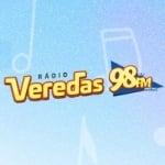 Logo da emissora Rádio Veredas 98.1 FM