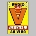 Logo da emissora Rádio Vertentes 104.9 FM