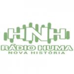 Logo da emissora Rádio Huma Nova História