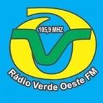 Logo da emissora Rádio Verde Oeste 105.9 FM
