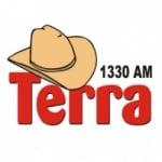 Logo da emissora Rádio Terra 1330 AM