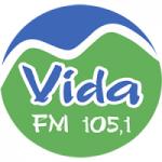 Logo da emissora Rádio Vida 105.1 FM