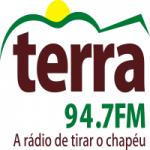 Logo da emissora Rádio Terra 94.7 FM