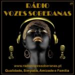 Logo da emissora Rádio Vozes Soberanas