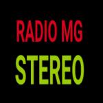 Logo da emissora Rádio MG Stereo