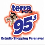 Logo da emissora Rádio Terra HD 95.3 FM