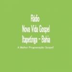 Logo da emissora Rádio Nova Vida Gospel Itapetinga Bahia