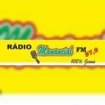 Logo da emissora Rádio Manancial FM