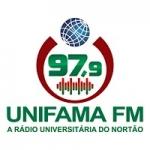 Logo da emissora Rádio Unifama 97.9 FM