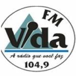 Logo da emissora Rádio Vida 104.9 FM