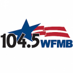 Logo da emissora Radio WFMB 104.5 FM