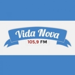 Logo da emissora Rádio Vida Nova 105.9 FM