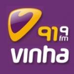 Logo da emissora Rádio Vinha 91.9 FM