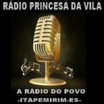 Logo da emissora Rádio Princesa da Vila FM