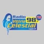 Logo da emissora Rádio Vitória 98.7 FM