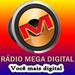 Logo da emissora Rádio Mega Digital