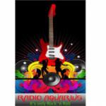 Logo da emissora Radio Aquarius