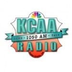 Logo da emissora KCAA 1050 AM
