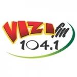 Logo da emissora Rádio Vizi 104.1 FM