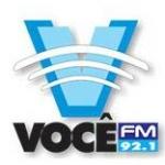 Logo da emissora Rádio Você 92.1 FM