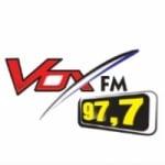 Logo da emissora Rádio Vox 97.7 FM