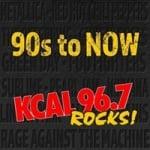 Logo da emissora Radio KCAL 96.7 FM
