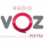 Logo da emissora Rádio Voz 91.9 FM