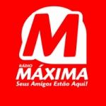 Logo da emissora Rádio Máxima Goiânia