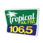 Logo da emissora Rádio Tropical Sul 106.5 FM