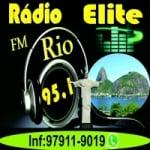 Logo da emissora Rádio Elite Rio FM