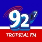 Logo da emissora Rádio Tropical 92.7 FM