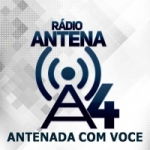 Logo da emissora Rádio Antena A4