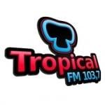 Logo da emissora Rádio Tropical 103.7 FM