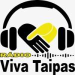 Logo da emissora Rádio Viva Taipas