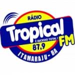 Logo da emissora Rádio Tropical 87.9 FM